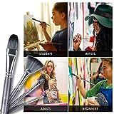 Artify 15 pcs Paint Brush Set for Acrylic Oil