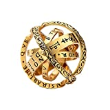 Jack-F Astronomical Sphere Ring- 925 Silver