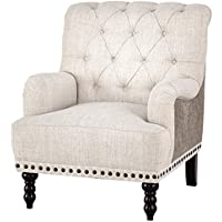 Signature Design by Ashley A3000053 Accent Chair, Off-White