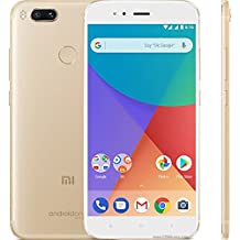 Unlocked GOLD Xiaomi Mi A1, 4GB 64GB, Dual SIM standby, Global Version, 5.5 inch Smartphone Android One, Dual Rear 12.0MP Camera Snapdragon 625