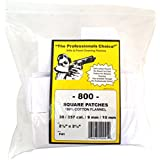The Professional's Choice Cotton Flannel Gun Cleaning Patches, Bulk - Large Bag