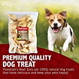 Powerpet 100% Natural Cow Ears for Dogs