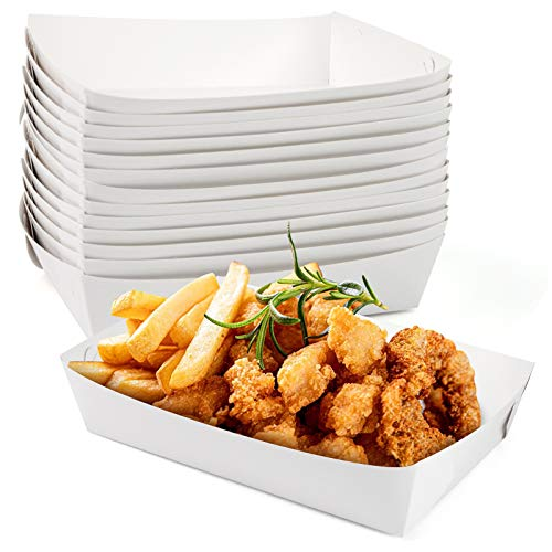 Paper food trays perfect for lunch boxes.