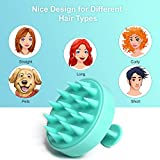 2-Pack Hair Scalp Massager Shampoo Brush, Heeta Wet and Dry Hair Scalp Brush with Soft Silicone