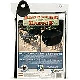 MR BAR B Q Backyard Basics 70-Inch Round Patio Set Cover