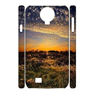 case Of Sunset 3D Bumper Plastic Cell phone Case For Samsung Galaxy S4 i9500