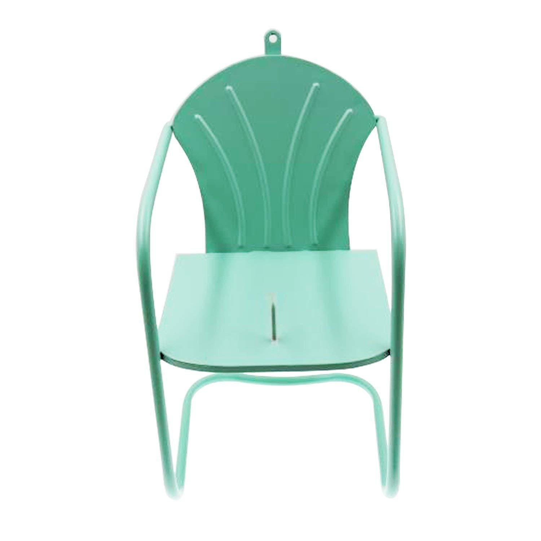 Drware Squirrel Feeder Chair, Green