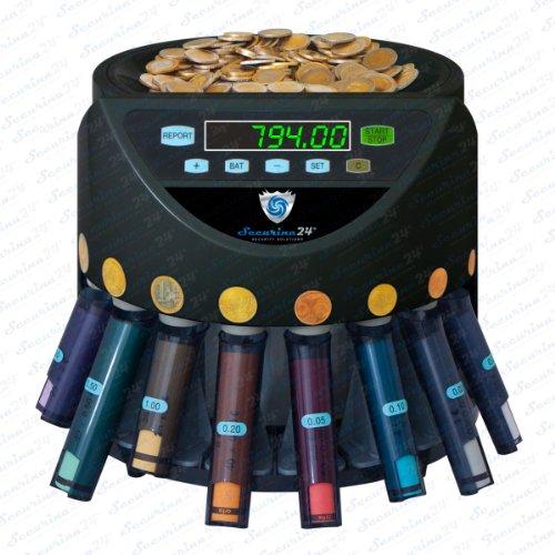Münzzähler Münzzählmaschine Münzsortierer Geldzählmaschine SR1200 Abhülsung von Securina24®