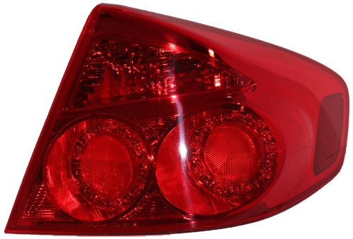 Genuine Infiniti Parts 26550-AC725 Infiniti G35 Passenger Side Replacement Tail Light Assembly