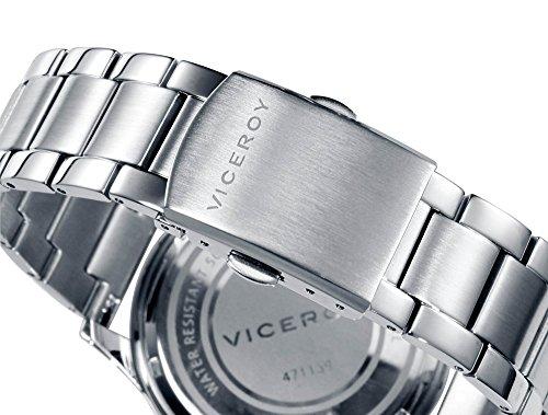 Viceroy herr multiurtavla kvartsur med rostfritt stål armband 471139-15