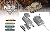 1/144 German Super Tank E100 and Tiger 1 Late