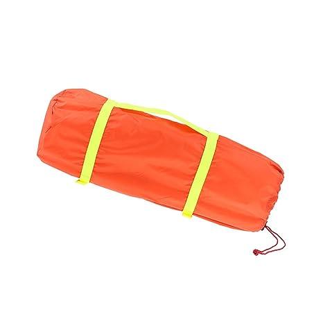Baoblaze 1 Unid Bolsa Saco de Dormir Multifuncional Acampada Excurnismo Saco de Compresión - Naranja