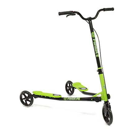 Amazon.com: y-volution yfliker F5 – Patinete, color verde y ...