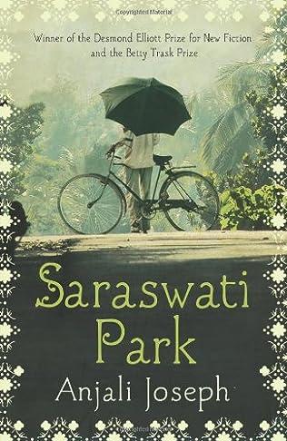 book cover of Saraswati Park
