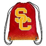 2016 NCAA College Team Logo Drawstring Backpack Bag - Pick Team (USC Trojans)