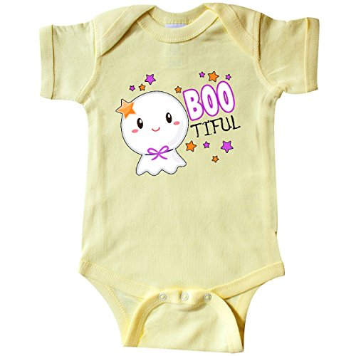 inktastic - Boo-Tiful- Cute Ghost Infant Creeper 12 Months Banana Yellow 315ce
