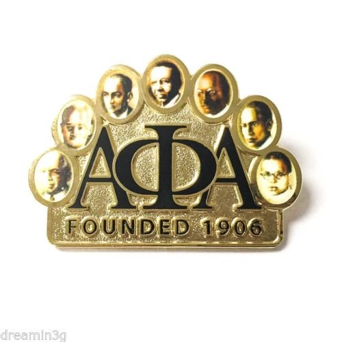 Alpha Phi Alpha G962 Founders Lapel Pin Lapel Pin Jacket Fraternity Divine Nine Greek