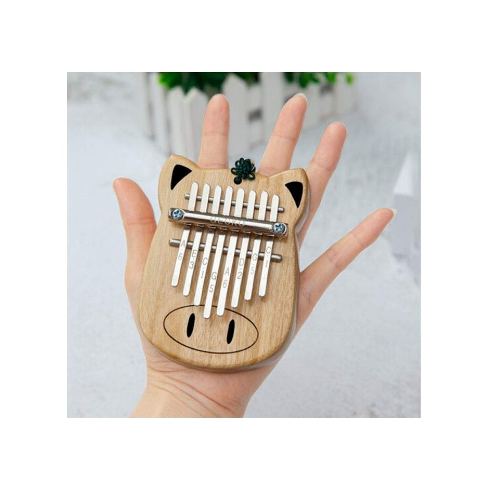 Youshangshipin Kalimba, Portable Kalimba Thumb Piano. 10 Tone 17 Tone African Finger Hand Piano, (style 5, There Are A Variety Of Styles, Gifts) (Edition : Style 5)