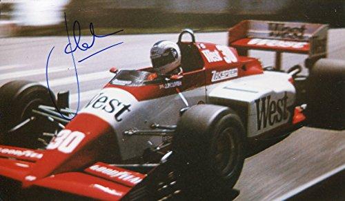 Jonathan Palmer autograph, Formula One racing driver