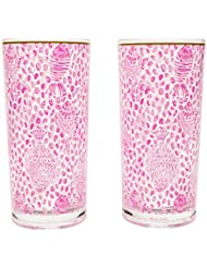 c4384fa3962 Amazon.com: Pink - Tumblers & Water Glasses / Glassware & Drinkware ...