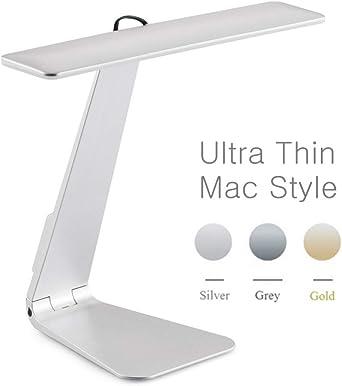 Estilo Ultrafino De Mac 3 Modo Atenuación Led Lectura Lámpara De ...