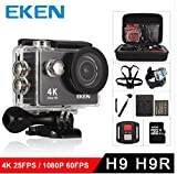 Action Camera Sport Camera 1080P Full HD Waterproof Underwater Camera Davola with 140° Wide-Angle Lens 12MP 2 Rechargeable Batteries and Mounting Accessories Kit - Black09