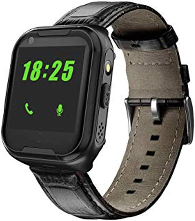 Laxcido Elderly GPS Smart Watch, 4G Heart Rate Blood Pressure Monitoring, Video Call Step Counter Geo-Fence SOS Voice Messages WAS £109.99 NOW £48.99 w/code V746N6ZT + £6 voucher on listing @ Amazon