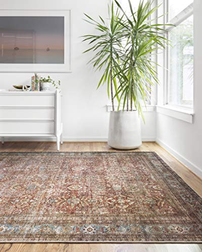 - Loloi II LAYLLAY-01BKBB5076 Layla Collection Area Rug, 5'0