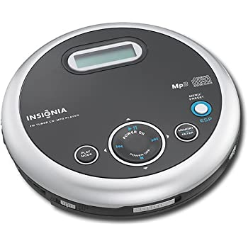amazon com insignia ns p5113 portable cd player with fm tuner and rh amazon com Technics MP3 Player Technics MP3 Player