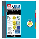 Five Star Spiral Notebook 5-Subject College Ruled 200-Sheet 11x8.5in Deal