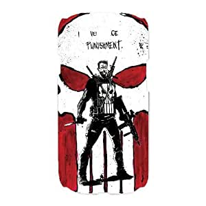 Protection Cover Opnpe Samsung Galaxy S3 I9300 Cell Phone Case White The Punisher Personalized Durable Cases