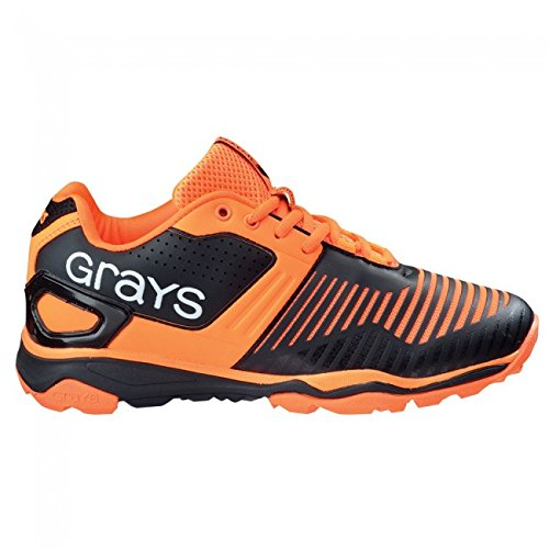 GRAYS GX 12000 Herren 2016 Hockey Schuhe – Schwarz/Orange