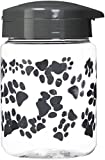 IRIS Pet Treat Jar, 64 oz, Gray