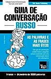 capa de Guia de Conversacao Portugues-Russo E Vocabulario Tematico 3000 Palavras