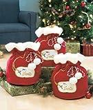 Set of 3 Santa's Gift Bags