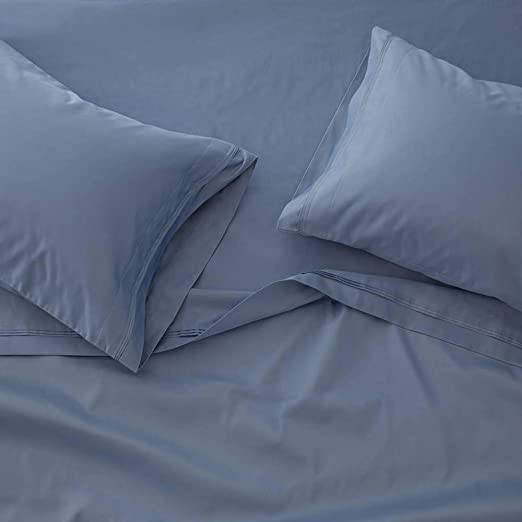 Luxury USA Bedding Item-All Size 100/% Egyptian Cotton 1000 TC Navy Blue Solid