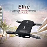 RC Quadcopter Drone, Keepfit JJRC H37 Altitude Hold WIFI FPV Phone Control RC Quadcopter Drones Foldable Pocket Drone for Selfie with HD Camera