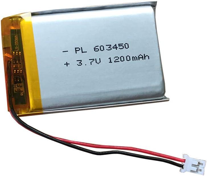 XINLANTECH 3.7V Rechargeable Replacement Battery 1500mAh for Infant Optics DXR-8