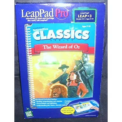 LeapPad Pro CLASSICS THE WIZARD OF OZ Book & Cartridge: Toys & Games