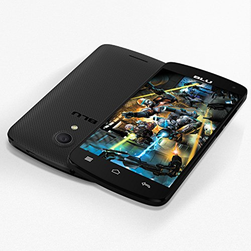 BLU Studio X8 HD – 5.0″ GSM Unlocked Smartphone -Black