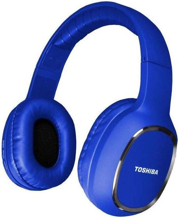 TOSHIBA RZE-BT160H - Auriculares de Diadema Deportivos, Bluetooth, Color Azul