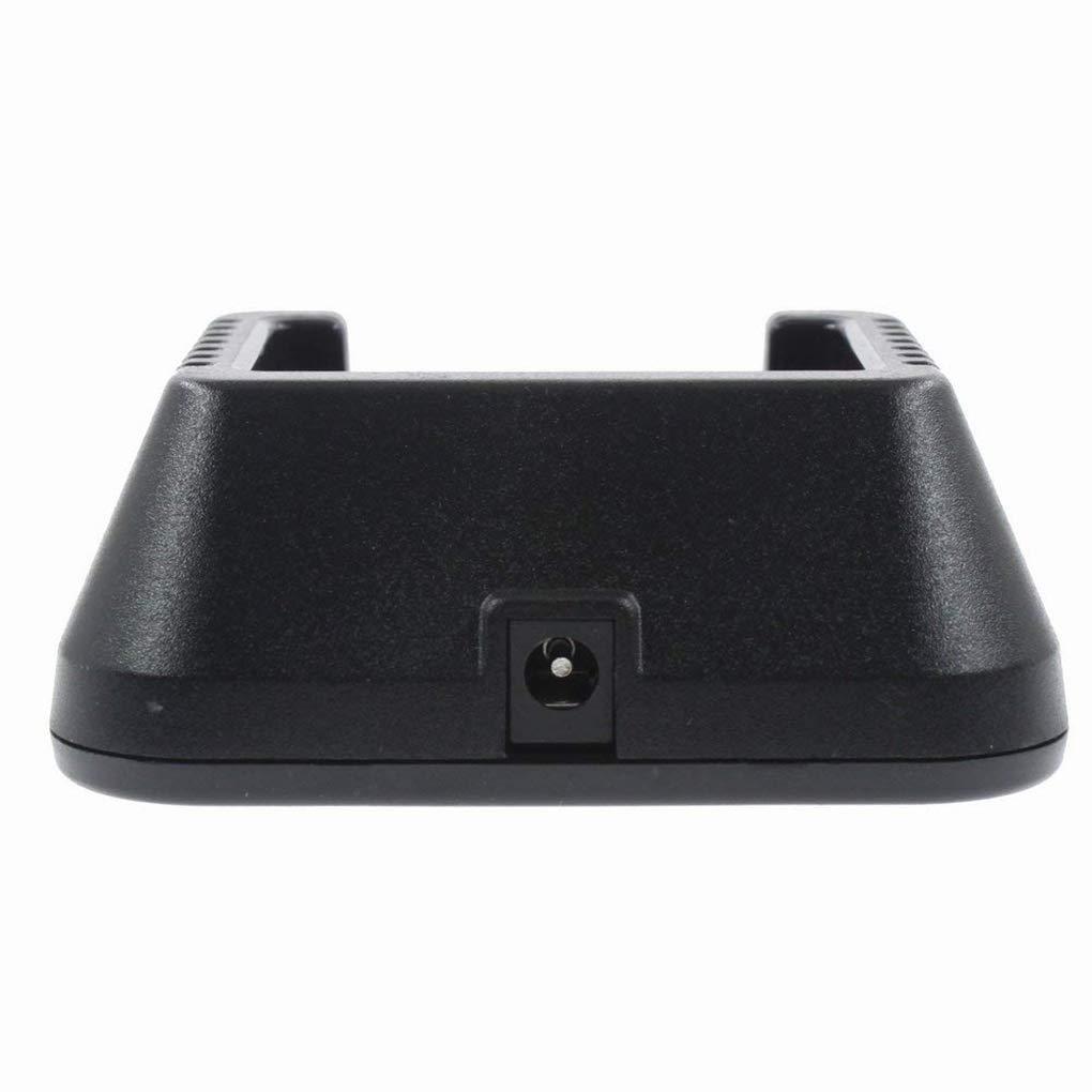 Reemplazo de 100V-240V walkie Talkie para Poder Cargador de Baofeng UV-5R 5RA 5RB 5RC 5RD 5RE 5REPLUS Adaptador de Cargador de bater/ía Regard