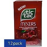 Tic Tac Mixers, Cherry Cola Mints, 1 oz. (Pack of 12)