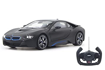 Jamara 404570 27 Mhz 1 14 Scale Black Bmw I8 Deluxe Car Amazon Co