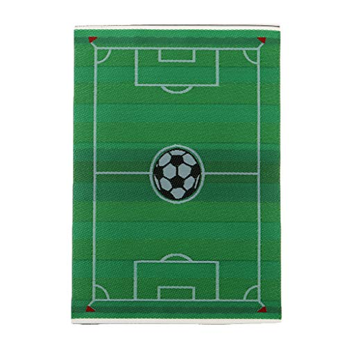 DYNWAVE Handmade Miniatures Rug Football Field Carpet Floor Covering, Dollhouse Accessory and Furniture, Modern Style