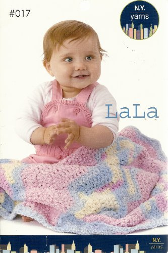 LaLa N. Y. Yarns Knit and Crochet Patterns #017 (N.Y. Yarns)