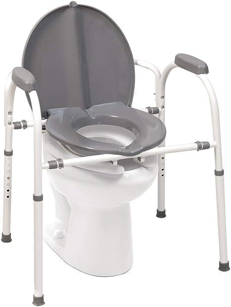 Amazon.com: MedPro Homecare - Silla con altura ajustable ...