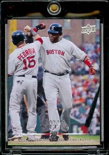 2008 Upper Deck # 373 David Ortiz CL - Red Sox - Check List - MLB Baseball Trading Card