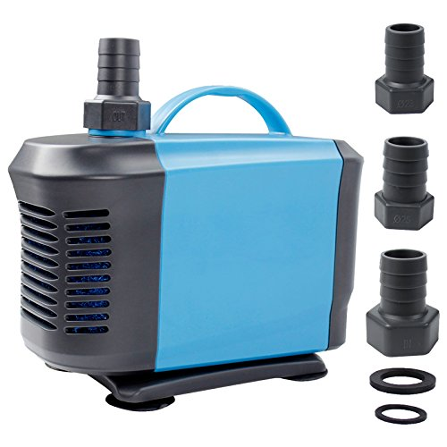 Aquaneat 1500GPH Submersible Pond Water Pump for Hydroponic Fountain Waterfall