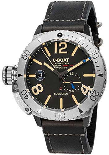 Used, U-boat sommerso 9007A Mens Automatic-self-Wind Watch for sale  Delivered anywhere in USA